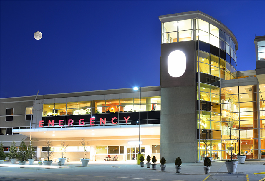 Image of a hospital where Americans choose to die